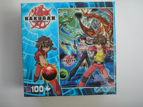 "Bakugan Puzzle 100 Pcs - Dan and Shun 16""x11"""
