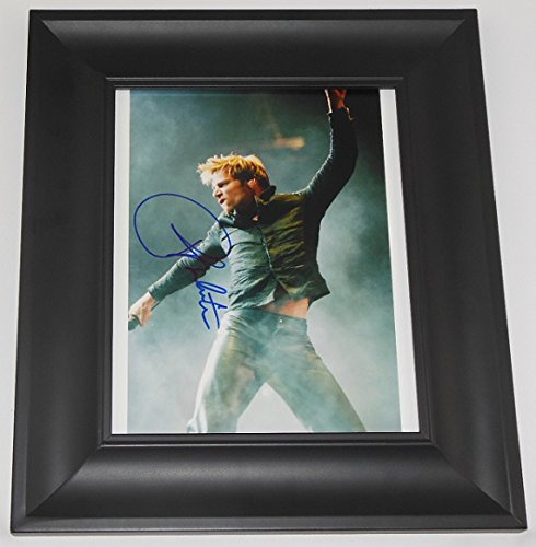 Ricky Martin Livin La Vida Loca Signed Autographed 8x10 Glossy Photo Gallery Framed Loa ryan fitzpatrick autographed hand signed buffalo bills 8x10 photo