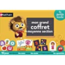 Nathan - 31412 - Jeu Educatif et Scientifique - Grand Coffret Moyenne Section