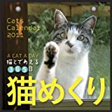 2011年 カミンカレンダー 猫めくり(猫と出会える365日)スタンド付パッケージ入り / �潟Jミン