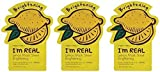 Tony Moly Mask Sheet - Lemon -3 Count
