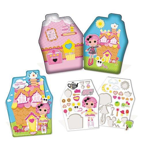 Imagen principal de Lalaloopsy - Adhesivos decorativos de gel con caja metálica (45 piezas), diseño de muñeca y accesorios