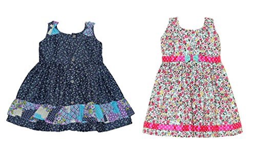 Mom's Girl Frock: Set of 2 Frocks for 1-2 Years