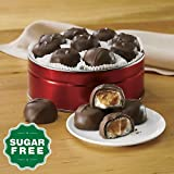 The Swiss Colony Sugar Free Caramel Marshmallows Gift Tin