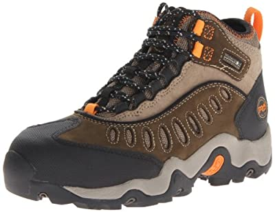 Timberland PRO Men's Mudslinger Mid WP Lace-Up Fashion Sneaker Steel toe