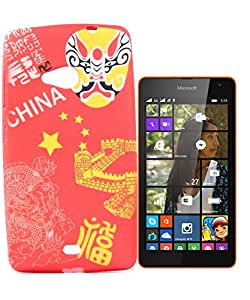 Exclusive Rubberised Back Case Cover For Nokia Lumia 535 By Microsoft - China