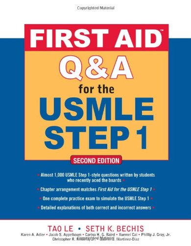 First Aid Q&#038;A for the USMLE Step 1, Second Edition (First Aid USMLE)