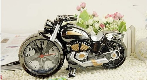 Motorcycle alarm clock cool model clock creative home gifts fashion