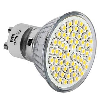 2 croled 10x gu10 gu10 ampoule lampe bulb a 60 smd led blanc blanc chaud 3w luminaires. Black Bedroom Furniture Sets. Home Design Ideas