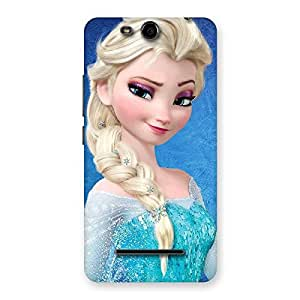 Special Wink Freez Princess Back Case Cover for Micromax Canvas Juice 3 Q392