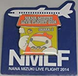 水樹奈々 【LIVE FLIGHT 2014】 ピンズ 大阪会場1日目限定