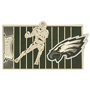 NFL Philadelphia Eagles 3D Football Player on the Field Pin