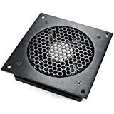 AC Infinity AI-CFS120BA Single 120 Quiet Cabinet Fan, Black