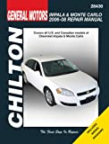 Mike Stubblefield General Motors Chevrolet Impala & Monte Carlo 2006-08 Repair Manaul (Chilton's Total Car Care Repair Manuals)