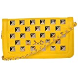 Naitik Products Sling & Cross-Body Bags (Yellow,8-6-15.07)