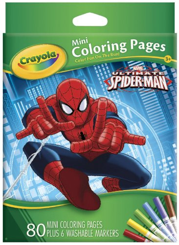 mini coloring pages spiderman - photo#38