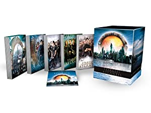 Stargate Atlantis - The Complete Collection (26 DVDs) [Limited Edition]