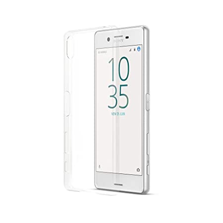 Pack Sony Xperia X Smartphone débloqué 4G (Ecran: 5 pouces - 32 Go - Simple Nano-SIM - Android Marshmallow 6.0) Argent/Blanc + Coque officielle Sony Xperia X SBC-20