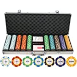 Monte Carlo Clay Poker Chip Set