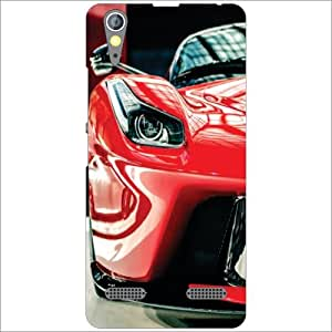 Lenovo A6000 Plus Back Cover - Super Car Designer Cases