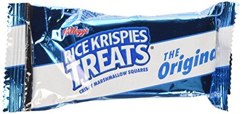 Kellogg's Rice Krispies Treats Original Crispy Marshmallow Squares .78 oz Bars - 54 Bars (Rice Squares compare prices)