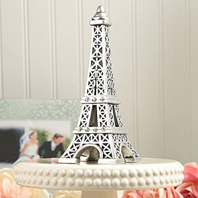 Eiffel Tower Centerpiece and Wedding Cake Topper (1)
