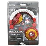 NFL Kansas City Chiefs Team Logo DJ Headphone