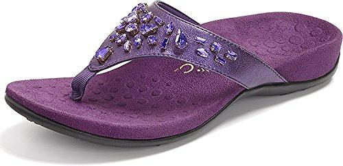Womens Purple Sandals