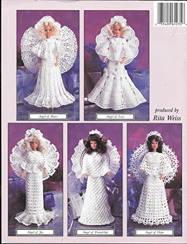 Crochet Fashion Doll Angels (American School of Needlework 1235) [Paperback] by