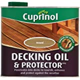 Cuprinol 2.5L Decking Oil and Protector - Natural