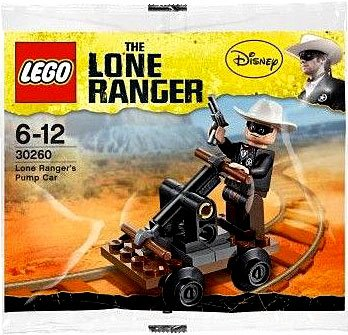 LEGO Lone Ranger: Pump Car Set 30260 (Bagged) - 1