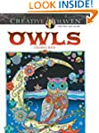 Creative Haven Owls Coloring Book (Ad...