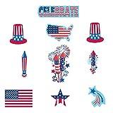 30-Piece Patriotic Paper Cutout Party Decorating Kit