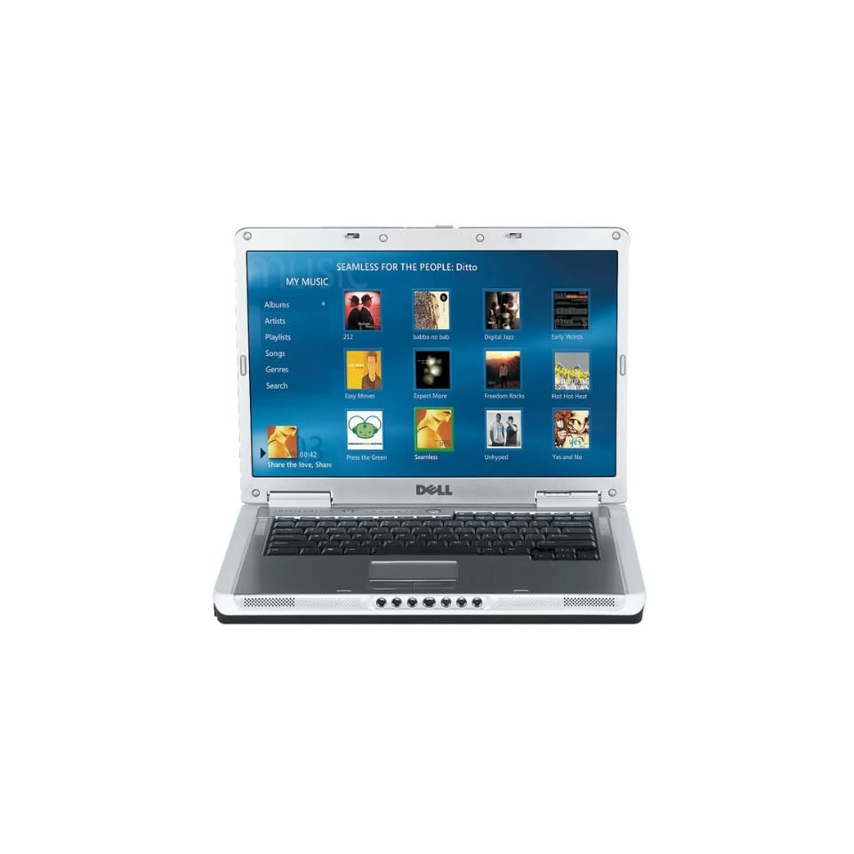 DELL INSPIRON 6400 INTEL CORE 1.6GHZ 1024MB 120GB CDRW/DVD 15.4 WIDESCREEN LCD WIFI XP LAPTOP
