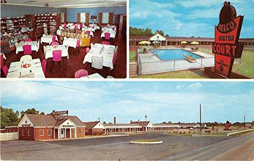 emporia-virginia-belco-motor-court-restaurant-vintage-postcard-j15550