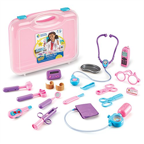 Learning-Resources-Pretend-Play-Assorted-Pink-Doctor-Playset-Pink-Standard-Packaging