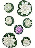 6 x Water Lilies, Artificial Pond Plants