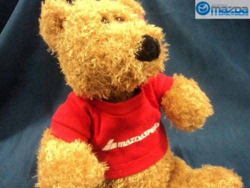 NEW OEM MAZDASPEED TEDDY BEAR