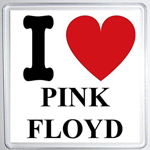 I Love Pink Floyd-sottobicchiere per compleanno, Natale, simpatica idea regalo