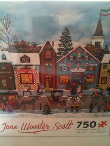 Jane Wooster Scott 750 Pieces Puzzle, Christmas