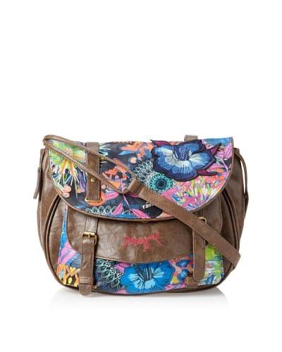 Desigual Women's Bandolera Shoulder Bag, Azul Electric