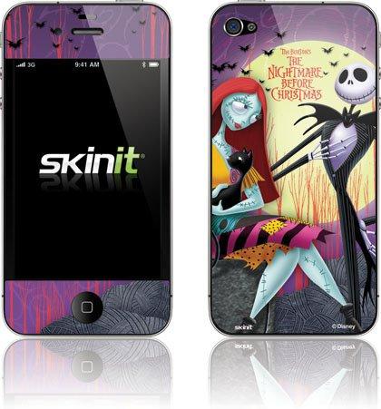 Skinit Jack & Sally Full Moon Vinyl Skin for Apple iPhone 4 / 4S