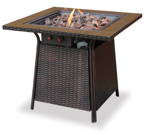 Endless-Summer-GAD1001B-LP-Gas-Outdoor-Firebowl-with-Tile-Mantel