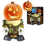 3B Global Pumpkin People Scarecrow Statue
