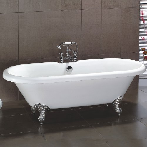 CHIC TRADITIONAL FREESTANDING ROLL TOP BATH TUB