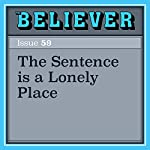 The Sentence is a Lonely Place | Gary Lutz