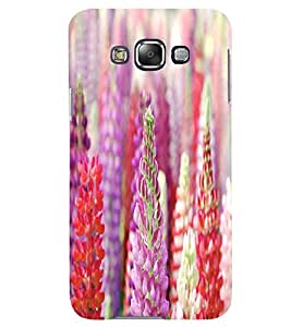 GADGET LOOKS PRINTED BACK COVER FOR Samsung Galaxy E7 MULTICOLOR