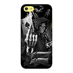 Premium Game Over Back Case Cover for iPhone 5C
