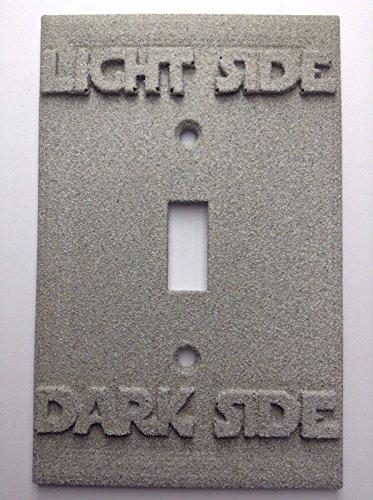 Star Wars (Light/Dark Side) Light Switch Cover (Custom) (Stone) (Custom Light Switch Cover compare prices)