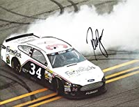 AUTOGRAPHED 2013 David Ragan #34 Farm Rich Racing TALLADEGA WIN BURNOUT (Sprint Cup Series) Signed 9X11 NASCAR Glossy Photo with COA